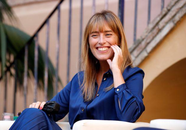 The italian deputy Maria Elena Boschi at the Festival of the cities. Rome (Italy), October 1st, 2020...