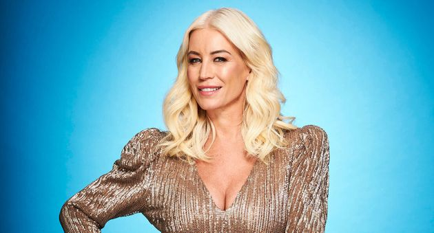 Denise Van Outen is out of Dancing On Ice