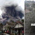 Les images de l'impressionnante éruption du volcan Semeru en