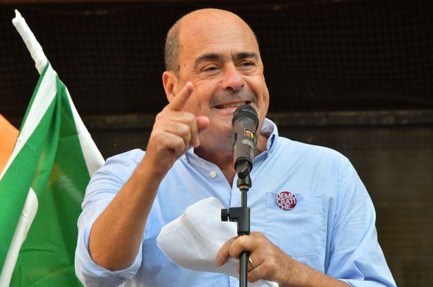 17/09/2020 Livorno elezioni regionali iniziativa del partito democtatico con il segretario Nicola