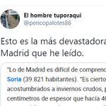 El alcalde de Soria se hace viral tras retratar la gestión de Madrid con la