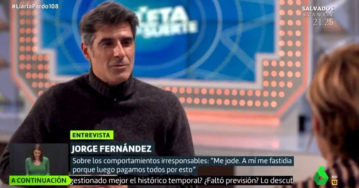 Jorge Fernández, molesto con lo que han hecho las autoridades sanitarias en las últimas semanas