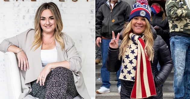 Canadian Jenna Ryan, left, wants the world to know she is not the same person as Jenna Ryan from Texas,...