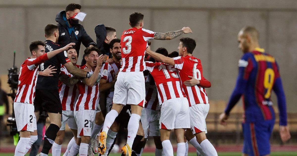 El Athletic se lleva la Supercopa al ganar al Barça (2-3) en la prórroga