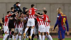 El Athletic se lleva la Supercopa al ganar al Barça (2-3) en la