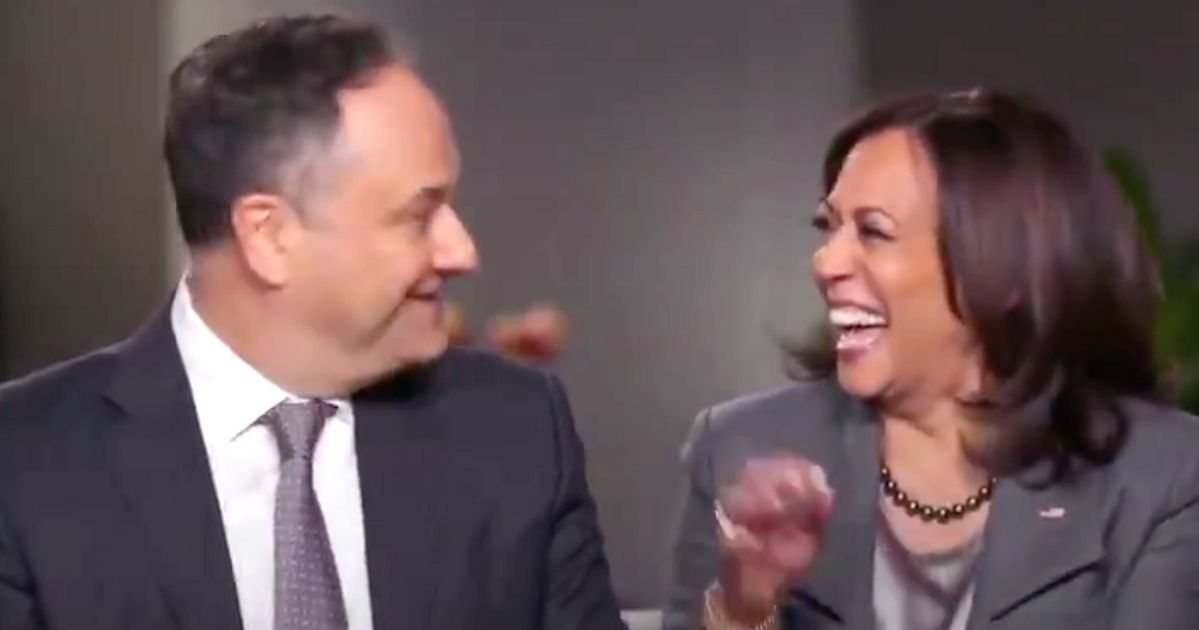 Kamala Harris Stuns Husband On CBS With Hilarious Detail About Their First Date