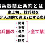 核兵器禁止条約とは?条約の意義、日本の参加は?ノーベル平和賞受賞団体の運営委員に聞いた。