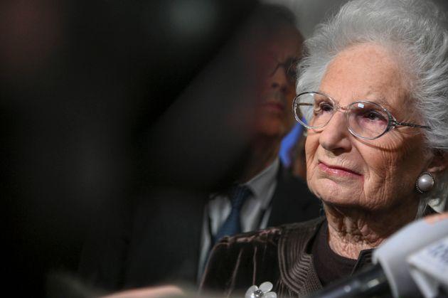 """Liliana Segre: """"Io a Roma per dare la fiducia al governo"""""""