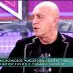 Kiko Matamoros confiesa que es cocainómano y la respuesta de su novia es de lo más