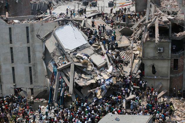 1100人以上の死者がでたバングラデシュの「ラナ・プラザの悲劇」
