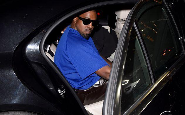 Kanye West, ici au mois d'octobre 2020 à