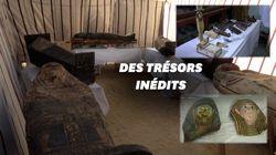 Plus d'une cinquantaine de sarcophages vieux de 3000 ans dévoilés en
