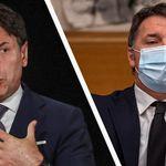 Crisi di Governo, Conte contro Renzi: