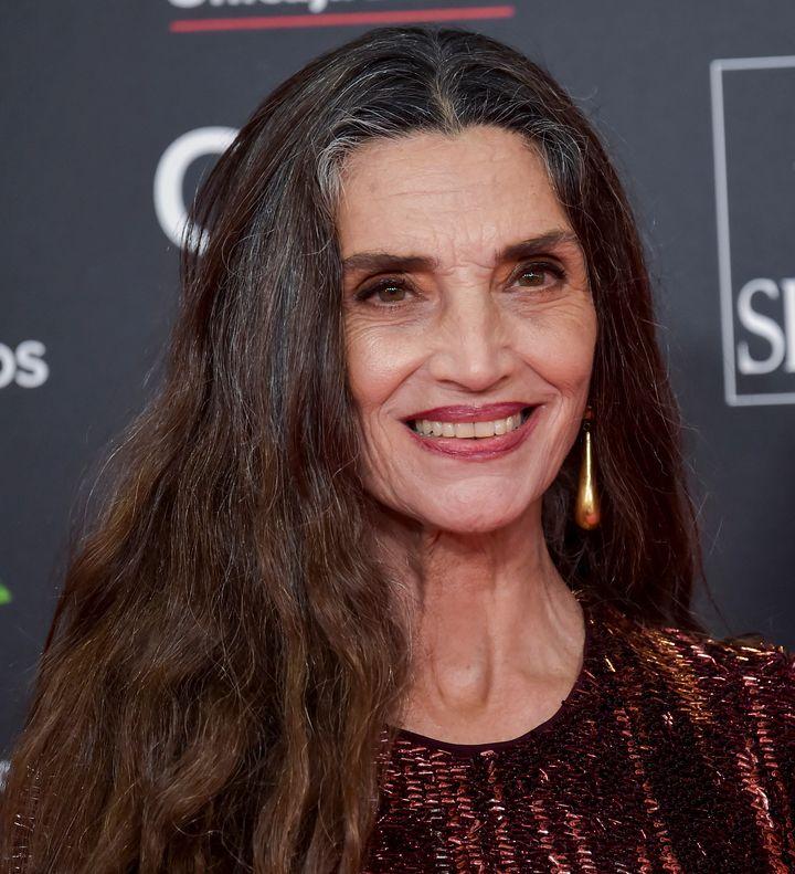 Ángela Molina en la gala de los Goya 2020.