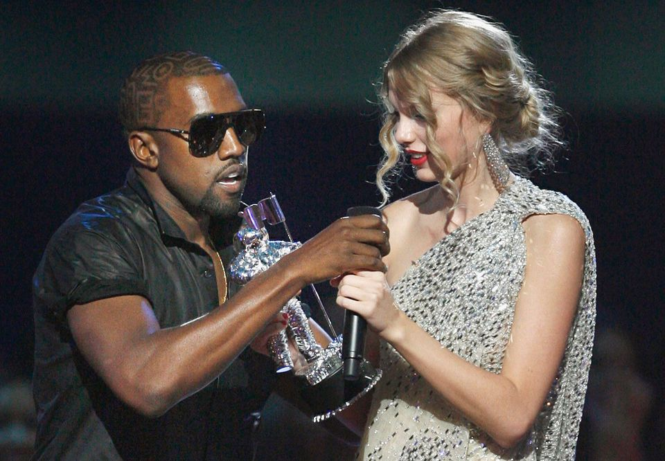 Kanye West and Taylor