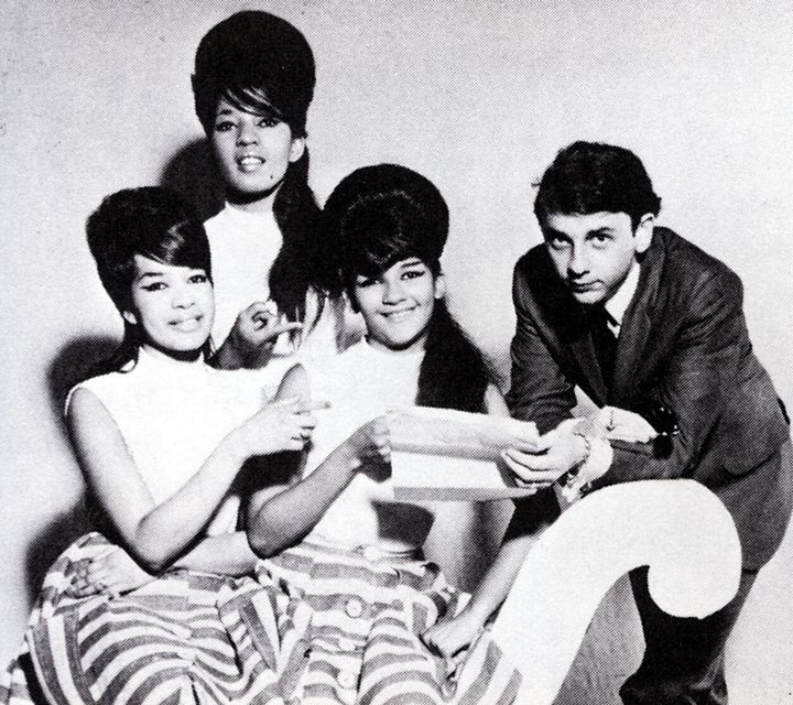 Phil Spector and The Ronettes.