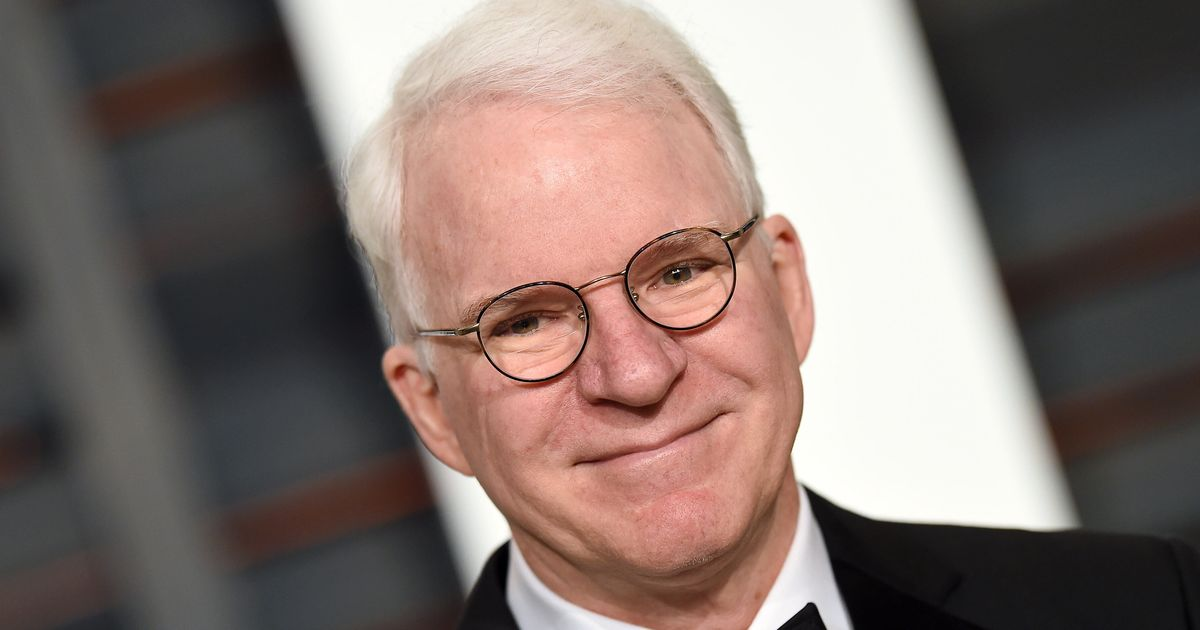 Steve Martin Celebrates Getting His COVID-19 Vaccine In A Perfectly Cheeky Way