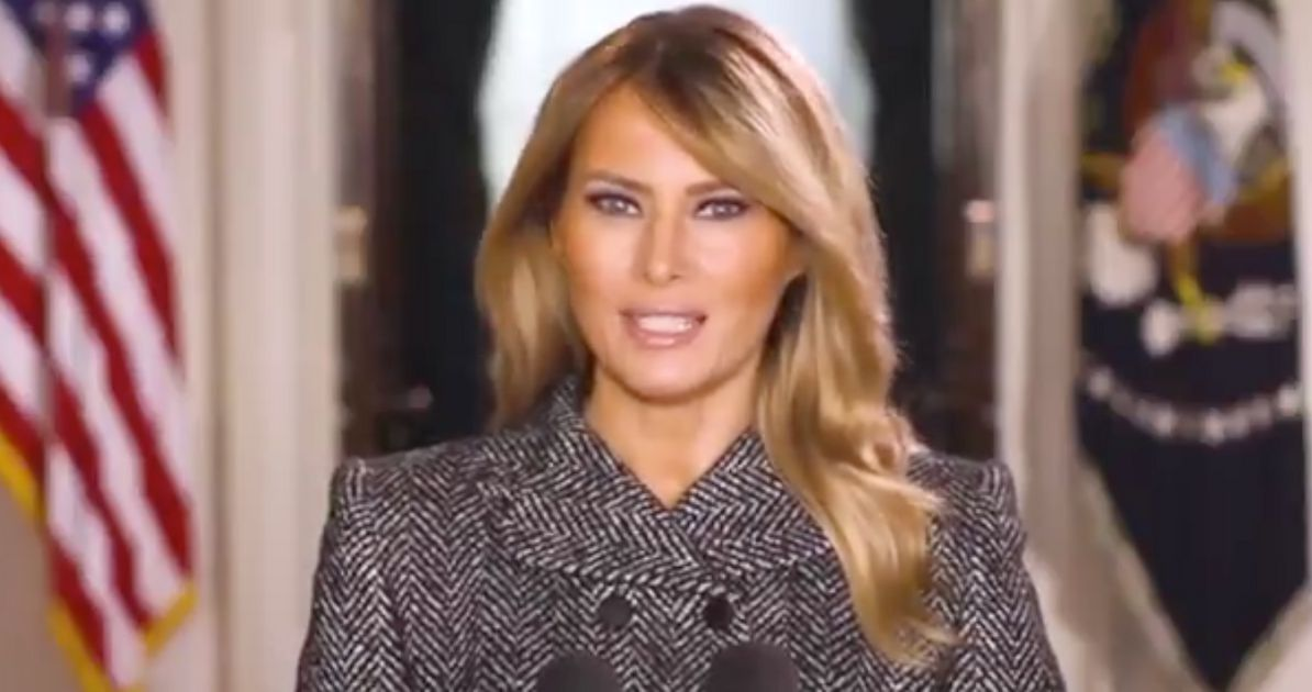 Twitter Users Say 'Good Riddance' As Melania Trump Releases Farewell Video