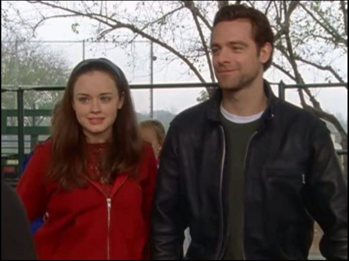"Alexis Bledel with David Sutcliffe in ""Gilmore Girls."""