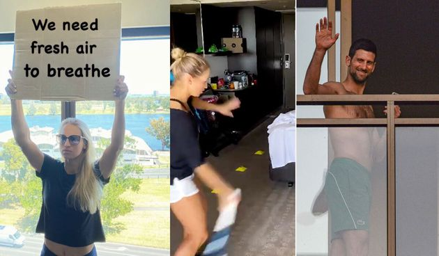 Australians stranded overseas have reacted to tennis players complaining about hotel quarantine after...
