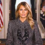 Melania Trump se despide instando