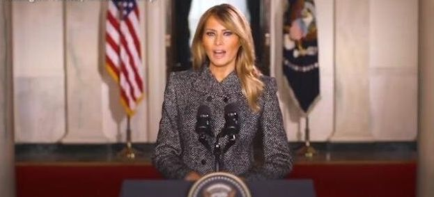 """Il discorso di addio di Melania Trump: """"Scegliete l"""