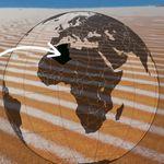 De la neige au Sahara? Les images de dunes algériennes après quelques