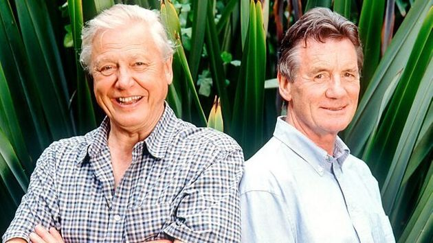 David Attenborough and Michael