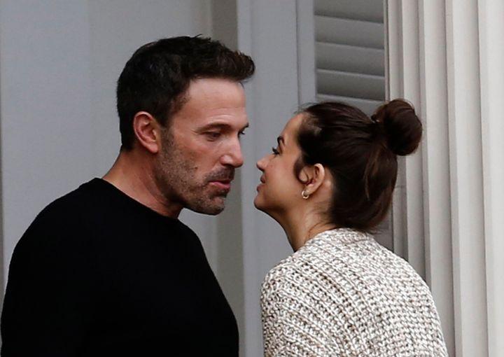 Ben Affleck y Ana de Armas en noviembre de 2020.