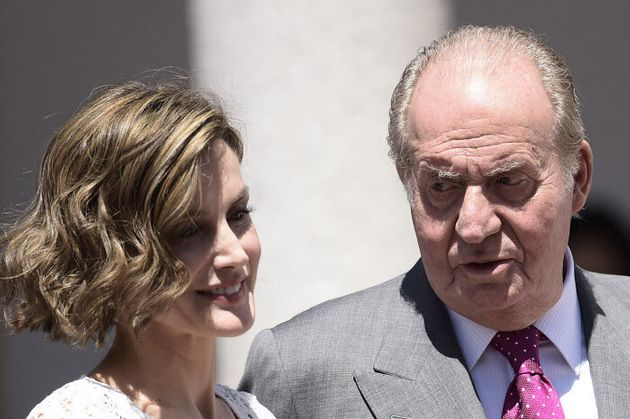Letizia y Juan Carlos I, el 20 de mayo de