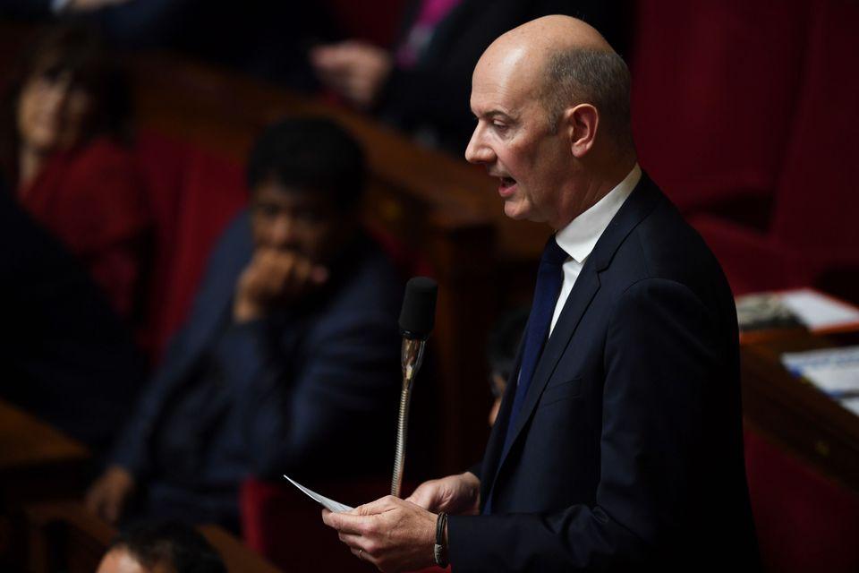 Roland Lescure, photographié à l'Assemblée nationale en 2018