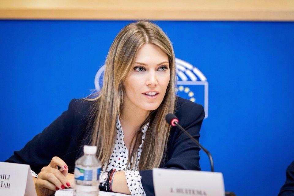 Η Ελληνίδα ευρωβουλευτής και πρόεδρος της STOA, Εύα