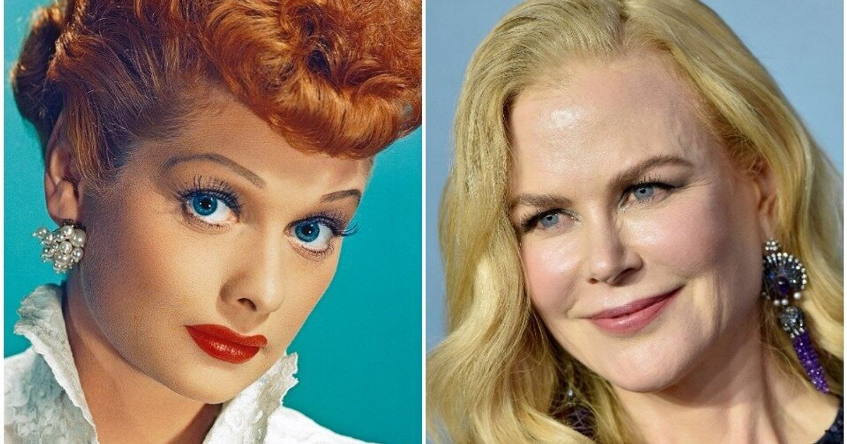 Lucille Ball's Daughter Defends Nicole Kidman Playing Her Mom In Upcoming Film - HuffPost