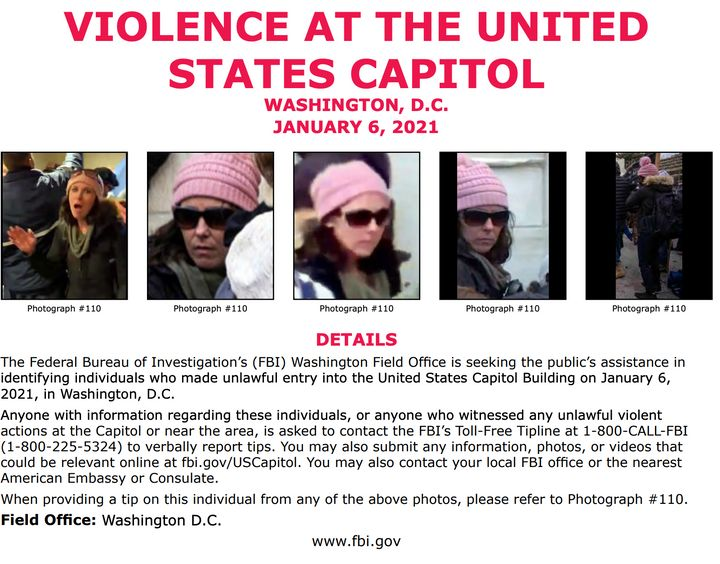 "The feds are looking to identify a woman Internet sleuths are calling ""Bullhorn Lady,"" who was captured on video feeding insu"