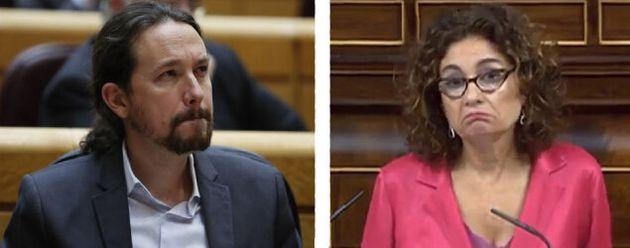 Pablo Iglesias y María Jesús