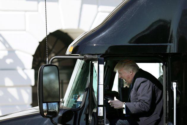 Trump, en marzo de