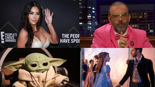 Recopilatorio televisivo: Kardashian, Bob Pop, Yoda y los Bridgerton.