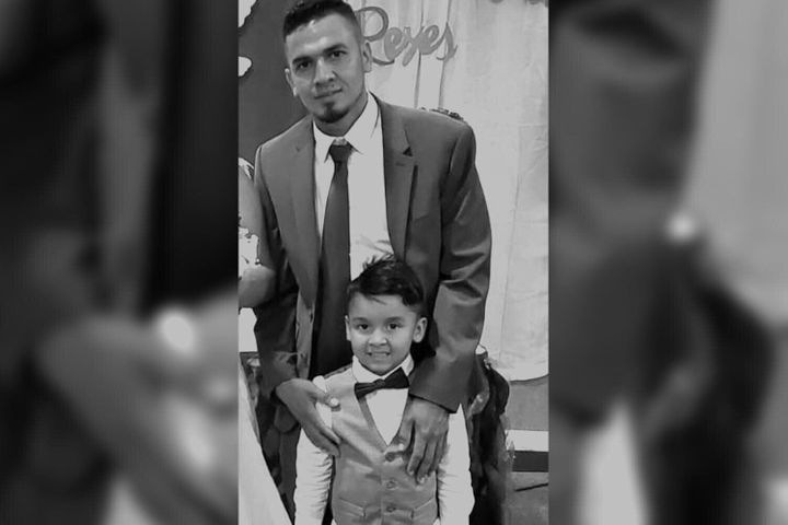 Javier Garrido, immigré hondurien, a été séparé de force de son fils de quatre ans pendant trois mois.