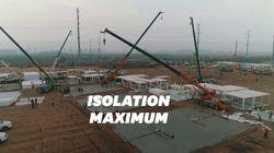 La Chine construit un éphémère mais gigantesque centre de
