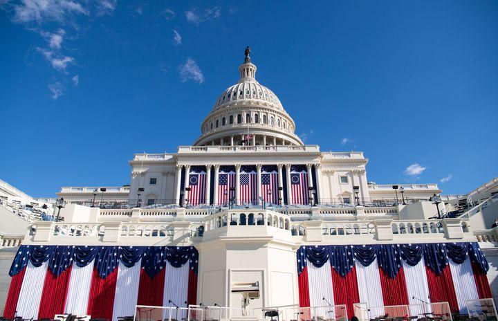 The U.S. Capitol is seen in Washington, D.C., on Jan. 19, 2021.