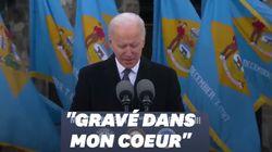 Biden ému aux larmes avant son départ à Washington pour son