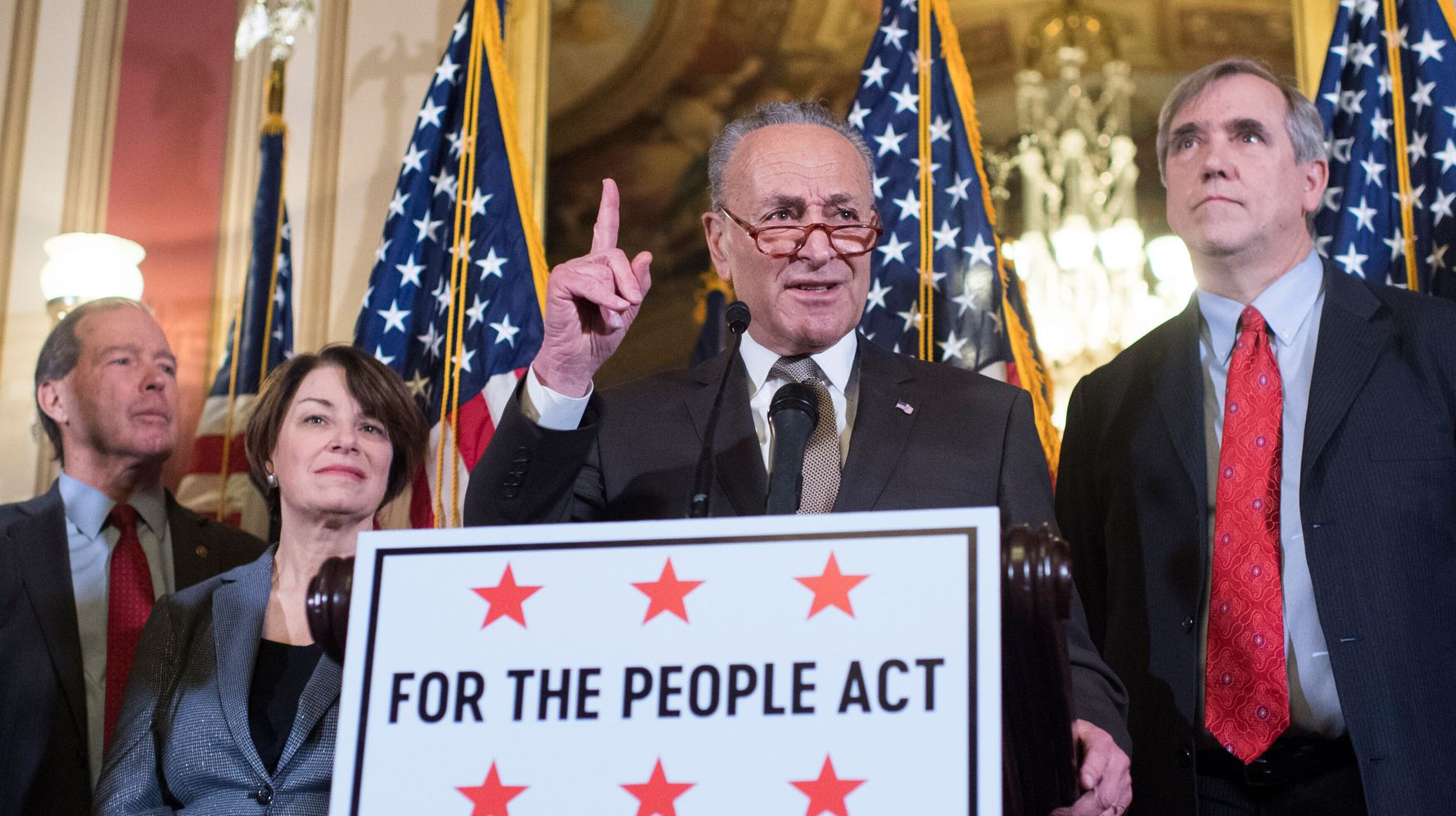 Senate Democrats Announce First Order Of Business For New Majority: Fixing Democracy