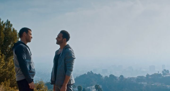 """Breaking Fast,"" released Friday, stars Haaz Sleiman (left) and Michael Cassidy."