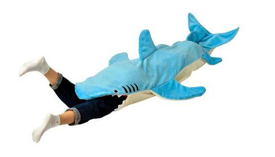 サメに丸のみされたいあなたへ。お薦めのブランケットがあります