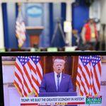Αποχαιρετιστήριος λόγος Τραμπ: «Κάναμε αυτά που έπρεπε να