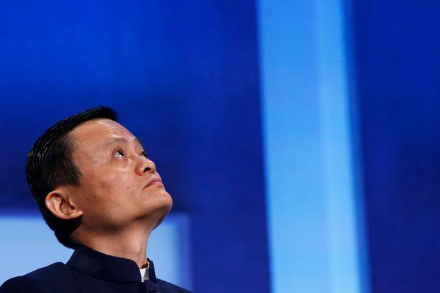 Disparu depuis deux mois, Jack Ma, le richissime fondateur d'Alibaba, refait surface (Photo de Jack Ma...