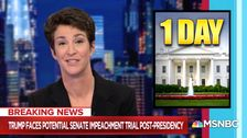 Rachel Maddow Has 1 Final Damning Question For Donald Trump