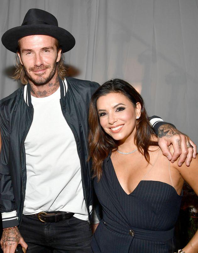 David Beckham and Eva