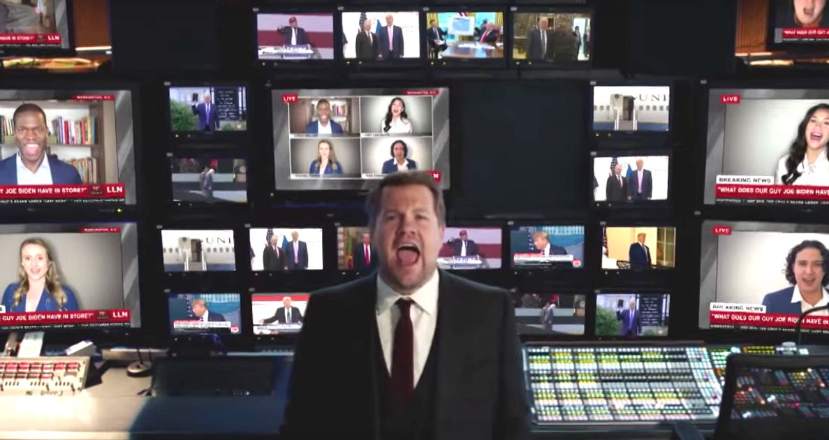 One Day More: James Corden Says Goodbye To Trump With Stirring Les Misérables Spoof