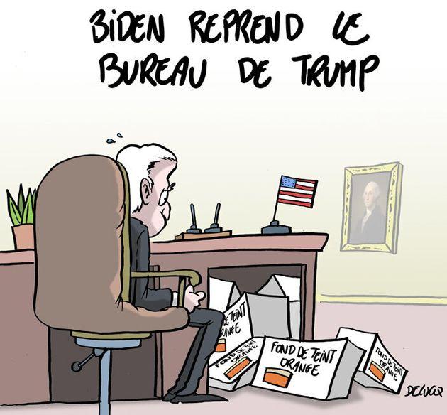 La surprise qui attend Joe Biden après le départ de Donald